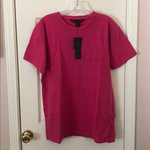 New Marc by Marc Jacobs Pink Pocket T-shirt